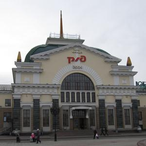 Железнодорожные вокзалы Ковдора